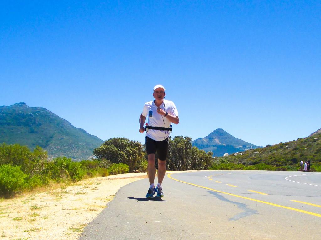 Auf der Panoramastraße Chapmans Peak Drive geht es bis über 500 Meter hinauf